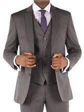 Mens Racing Green Charcoal Herringbone Tailored Suit Jacket 48 Reg CS077 BB 02