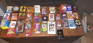 SEALED SPORTS and NON sports cards SEALED PACKS. Buyer RECEIVES 4 RANDOM PACKS