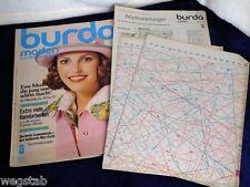 70er Jahre BURDA MODEN  Heft 3 März 73 große Ausgabe 80 Modelle (160 Seiten)