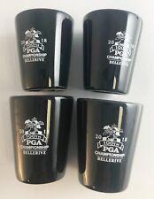 2018 PGA Championship Shotglass Set of 4 Shotglasses BELLERIVE NEW