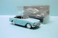 Norev - SIMCA ARONDE P60 OCEANE 1960 cabriolet bleu ciel Neuf NBO HO 1/87