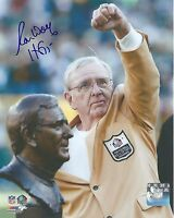 Ron Wolf Hand Signed 8x10 Autographed Photo w COA Greenbay Packers Hall of Fame