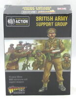 Bolt Action 402211011  British Army Support Group (WWII) Infantry HQ Weapon Team