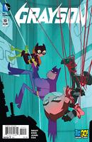 Grayson #10  DC Comic Book Variant NM Baby