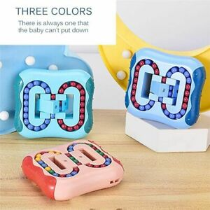 Intelligence Puzzle Games Rotating Magic Bean Fingertip Educational Toy for Gift