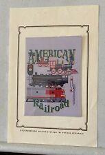 American Railroad, Puckerbrush, Inc. counted cross stitch pattern