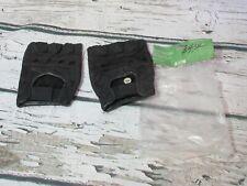 New VINTAGE Leather Bike Fitness Gloves Men's Adult XXL Padded Palms