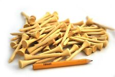"""Personalized 2 1/4"""" Wood Stinger golf tees"""