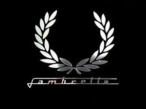 Lambretta laurel decal sticker chrome scooter northern soul trojan mod
