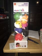 New listing Munchkin Ocean Squirts Bath Toy, 8 pack 8 Count Ocean Buddies