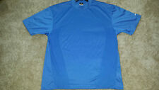 Nike Men's Golf Dry Fit Blue Casual Polo Shirt Size XL short sleeve