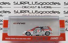 INNO64 1:64 HONDA CIVIC EF9 #10 Idemitsu Motion Macau Grand Prix Guia Race 1990