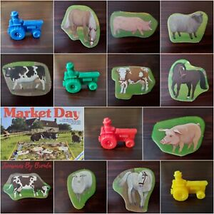 Ravensburger Market Day Game REPLACEMENT PIECES PARTS - You Pick - NO 🍁 DUTY