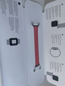 Apple Watch 44mm Pink Braided Solo Loop Size 8 Strap