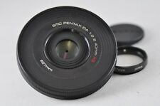 [Exc⁺⁺] SMC PENTAX-DA 40mm F2.8 XS Black Lens For K-Mount