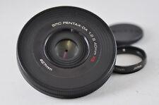 [Exc⁺⁺] SMC PENTAX-DA 40mm F2.8 XS Black Lens For K-Mount