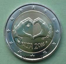 Malta 2 Euro Gedenkmünze 2016 Love Liebe commemorative coin Münzzeichen MdP