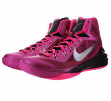 $140 Mens NIKE 2014 HYPERDUNK Basketball Shoes 653640 606 PINK BLACK Size 13