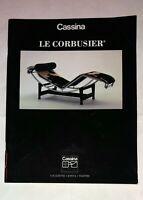 Catalogo Cassina - Le Corbusier - 1993 Settima edizione
