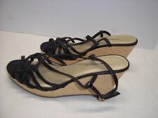 Womens xhilaration Black Wedge Heels Size 7
