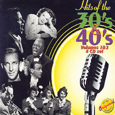 VARIOUS ARTISTS - HITS OF THE 30'S & 40'S, VOL. 1 & 2 NEW CD