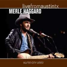 Country Merle Haggard 33 RPM Speed Vinyl Records