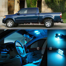 Deluxe Ice Blue Light Interior LED Package Kit For Toyota Tundra 2000-2004 9Pcs