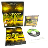 Warbreeds for PC CD-ROM in Big Box by Red Orb Entertainment, 1998, VGC, CIB