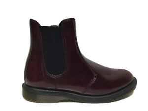 Dr. Martens Air Wair Boots Rubber Cherry Red Ankle Boots Women's Size 8M…