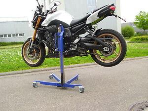Motorradzentralständer für Yamaha FZ8 Rangierheber BlueLIft Centralstand
