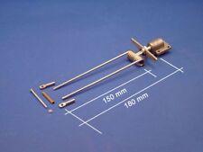 Bugfahrwerk 2-strebig, lenkbar - Länge kürzbar für Modelle bis 5kg extron X3326