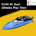 TKKJ H108 1:36 2.4G 4CH Mini Speed RC Racing Boat  Children's Water Toys Gift