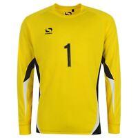 Sondico Core Goalkeeper Jersey Shirt Juniors Yellow Football Soccer