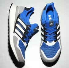 NEW Mens Sz 10 Adidas UltraBOOST Boost 1.0 S&L Blue Grey White Black EF1982