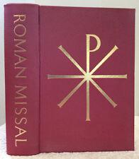 ROMAN MISSAL -1964 Missale Romanum - English/Latin altar missal