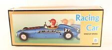 TIN TOY MECHANICAL WIND-UP Lotus #27 Racing Car-NEW IN BOX. MS641