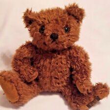"Giorgio Beverly Hills Plush Brown Bear 11"" Stuffed Animal"