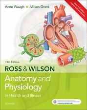 Ross & Wilson Anatomy And Physiology Health Illness 13th Edition Green Big Book