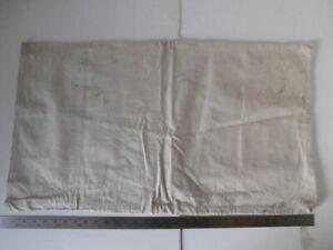 """Vintage Postal Courier MAIL LETTER BAG Postal Sack Canvas 31"""" x 18""""  (#3)"""