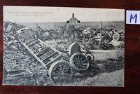 Postkarte Ansichtskarte Militaria 1914-1918,Weltkrieg I Grab Kraftwagenkolonne