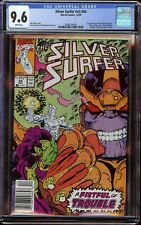 Silver Surfer # 44 CGC 9.6 White (Marvel, 1990) 1st appearance Infinity Gauntlet