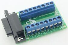 Adaptateur DB15 vers borniers Retroelectronik pour superguns et NeoGeo