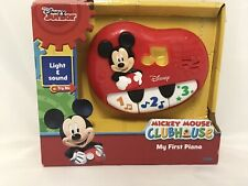 Disney Junior Mickey Mouse Clubhouse 'My First Piano' Light & Sound, 12 M +