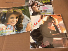 "LUCIA MENDEZ  colorina ... 3 different MEXICO 7"" vinyl unplayed NM RARE SET"