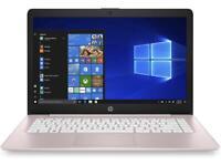 "HP Stream 14"" 14-cb118ds Intel Celeron N4000 4GB 64GB eMMC Win 10 in S mode Pink"