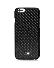 BMW M Carbon Fiber Black Hard Case for iPhone 6 / 6s 4.7