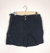 Vintage Ralph Lauren Navy High Waisted Shorts, Size S/M
