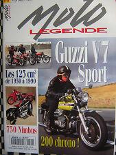 n° épuisé MOTO LEGENDE N°44 MOTO GUZZI V7 SPORT / 750 NIMBUS / NORTON ROTARY
