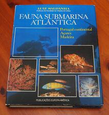 Fauna submarina atlântica - Portugal continental, Açores, Madeira