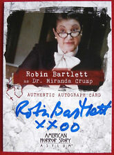AMERICAN HORROR STORY - ASYLUM - ROBIN BARTLETT, Dr Crump - Autograph Card